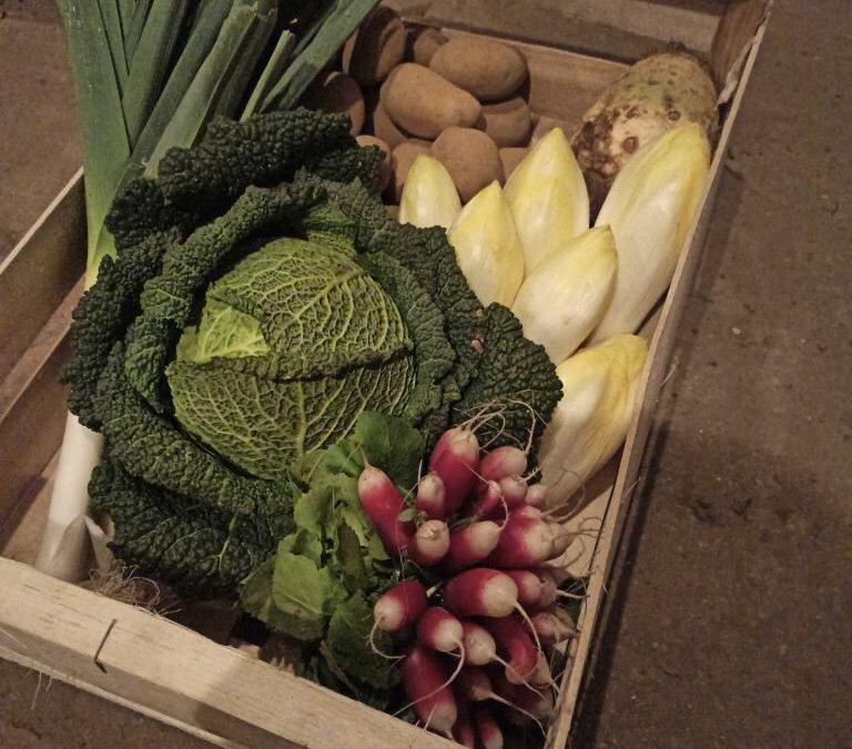 Oeufs, panier de légumes, et truites au Drive des Cochonnailles dès ce week-end !